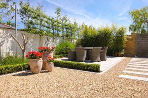 Experienced Landscaper Required - Mediterranean Court Yard Garden Design Dublin4