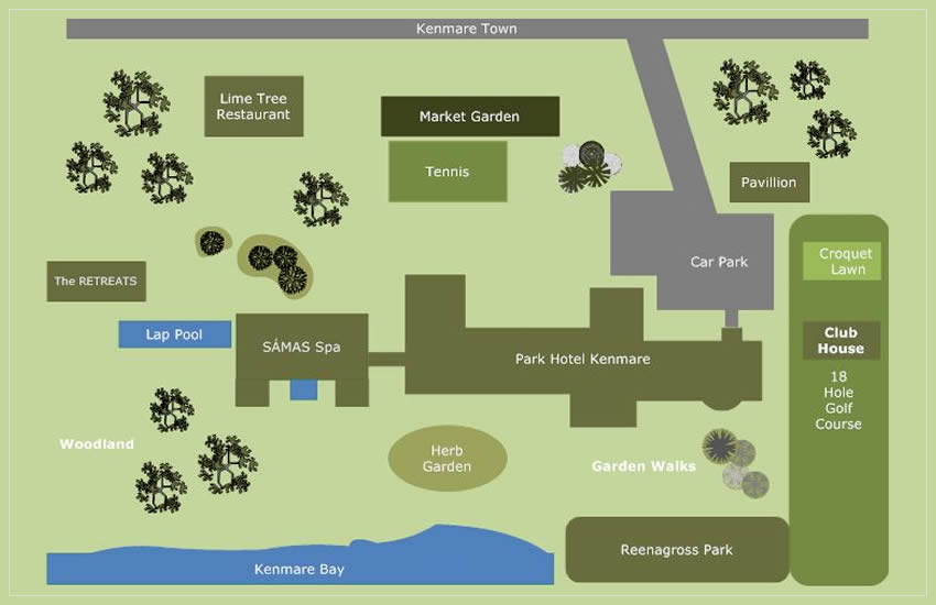 kenmare-grounds-map